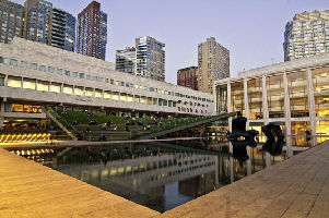 Laurie M. Tisch Illumination Lawn; Paul Milstein Terrace and Hearst Plaza by Mark Bussell